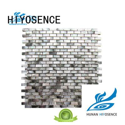 HIYOSENCE shell composite tile marketing for toilet