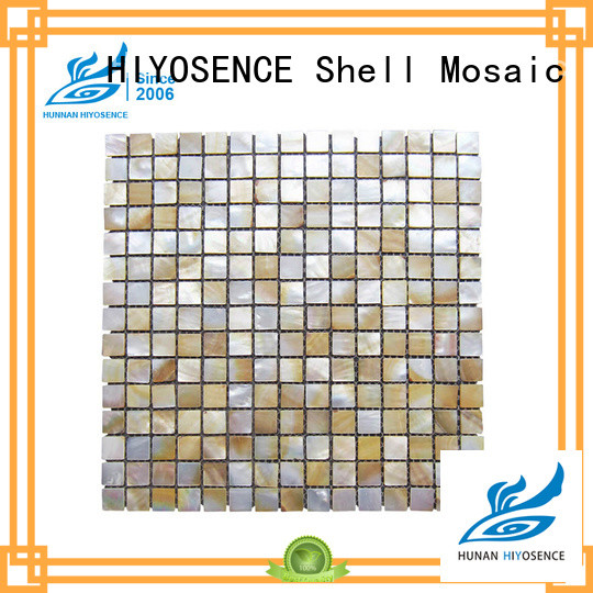 HIYOSENCE marble mosaic tile with good price