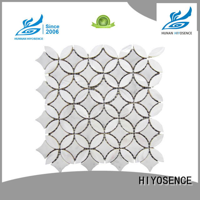 HIYOSENCE affordable price shell blend marble marketing for swimming pool