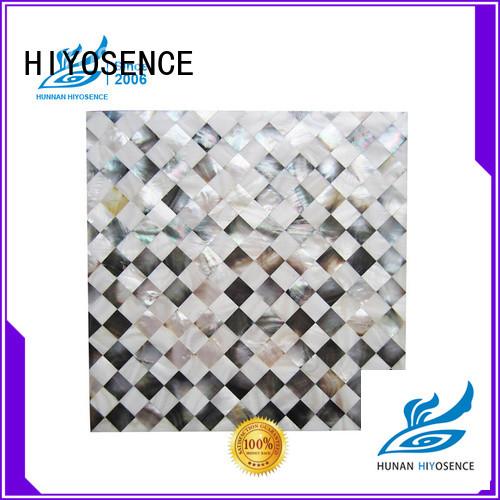 HIYOSENCE inexpensive shell panel bulk production for living room