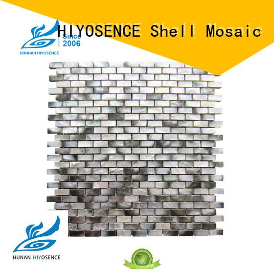 HIYOSENCE natural mosaic on concrete factory price for swimming pool