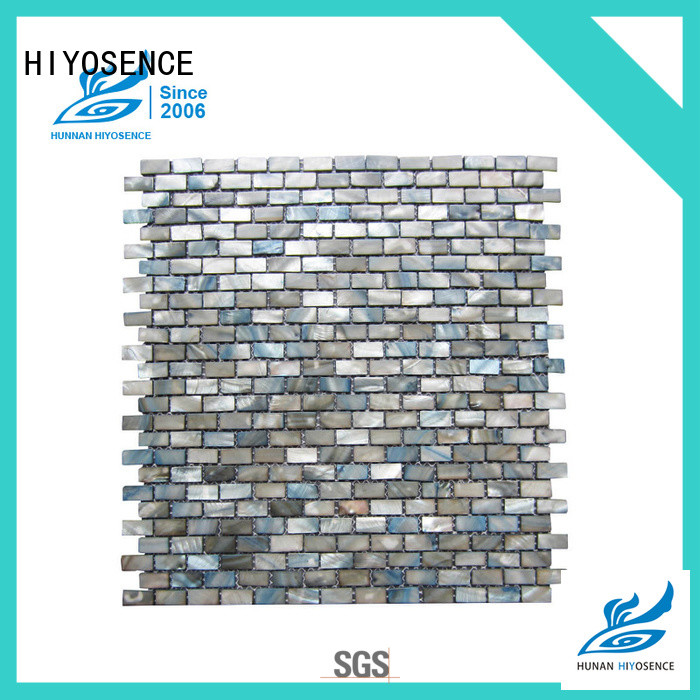 widely used pearl shell tile marketing for hotel