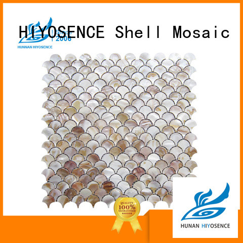 HIYOSENCE good quality shell mosaic tile overseas market for hotel