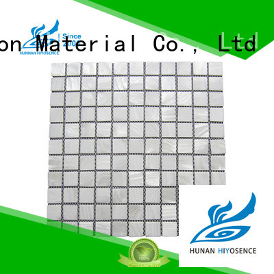 marble mosaic tile factory price for living room HIYOSENCE
