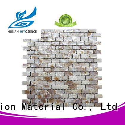 inexpensive shell mosaic marketing for hotel