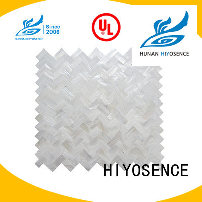 HIYOSENCE stable quality rhombus mother of pearl tiles marketing for swimming pool