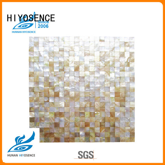 HIYOSENCE natural pearl kitchen tiles overseas market for hotel