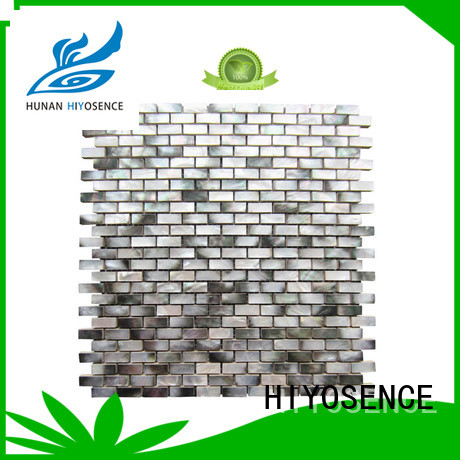 HIYOSENCE advanced technology shell composite tile with good price for swimming pool