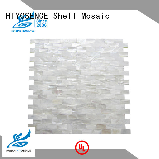 HIYOSENCE inexpensive mother of pearl penny tile factory price for hotel