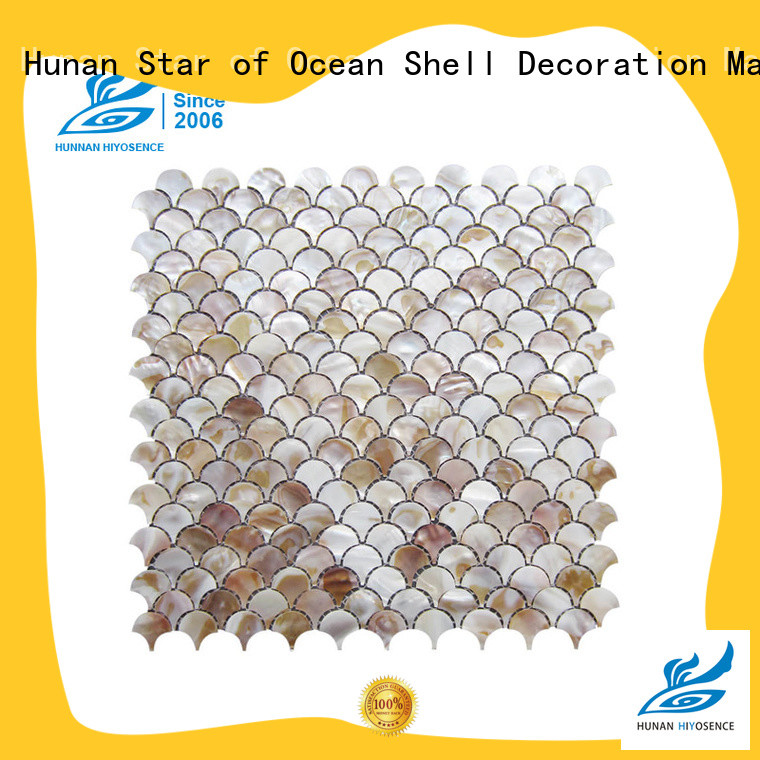 HIYOSENCE shell mosaic factory price
