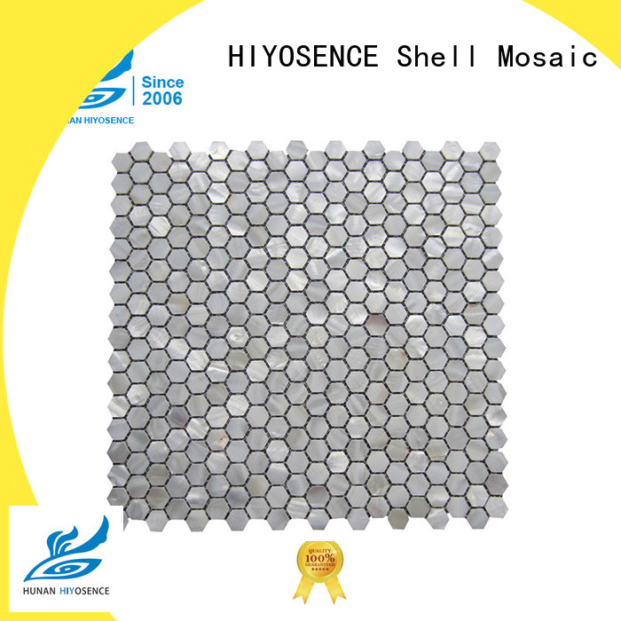 HIYOSENCE seashell tile marketing for decoration