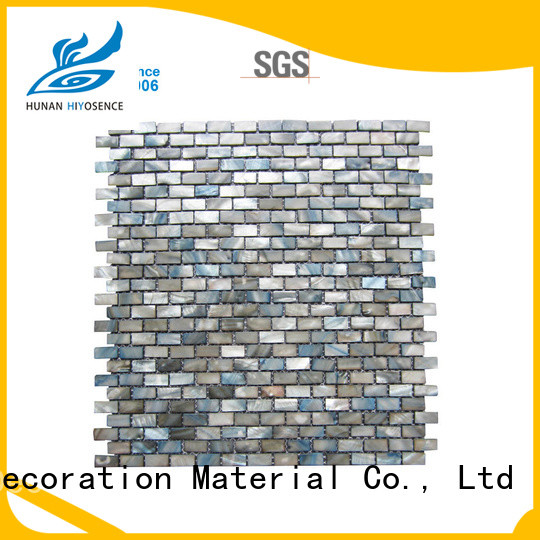 good quality shell mosaic tile marketing for hotel