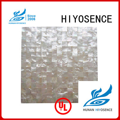 HIYOSENCE inexpensive shell tile backsplash factory price