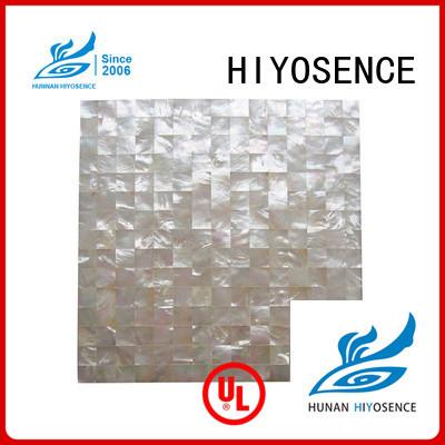 HIYOSENCE inexpensive shell tile backsplash factory price