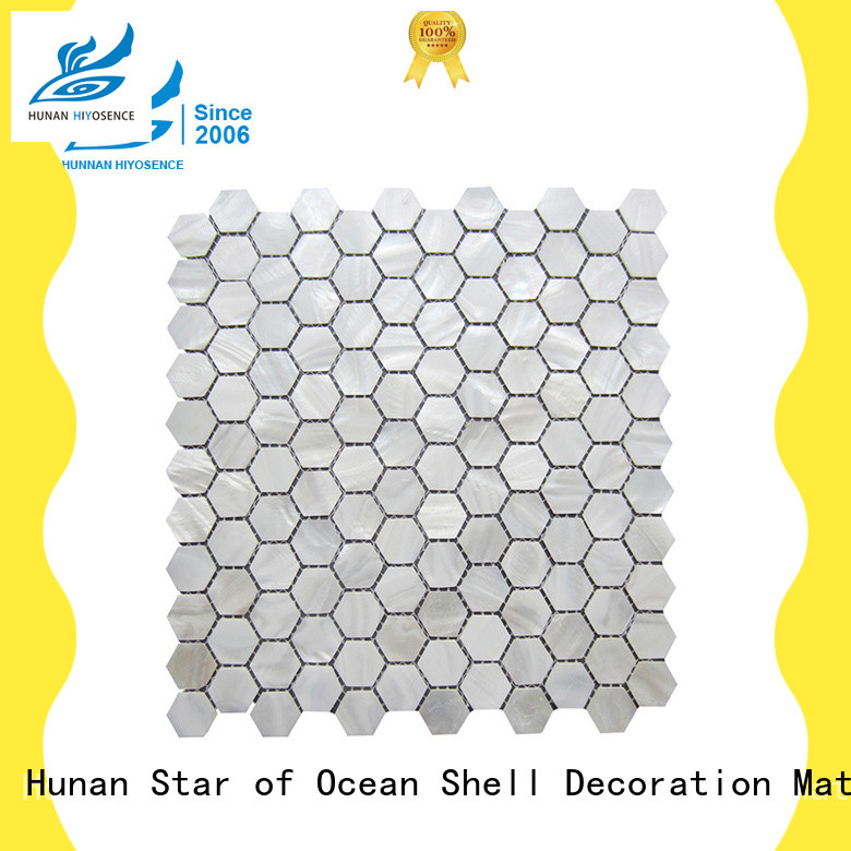 fashion design seashell mosaic overseas marketfor decoration