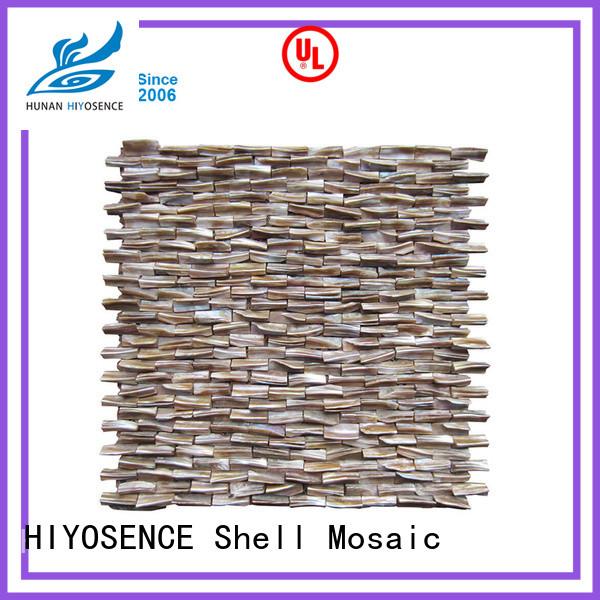 HIYOSENCE pearl white backsplash tile with good price