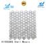 HIYOSENCE durable marble mosaic tile overseas market