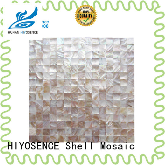 fashion design white pearl shell tile overseas market for swimming pool
