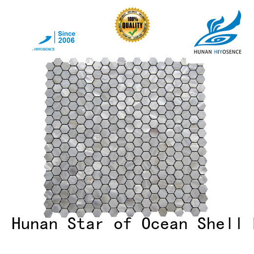 fashion design shell mosaic tile overseas market for toilet