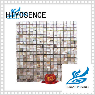 HIYOSENCE fashion design mosaic effect tiles with good price for toilet