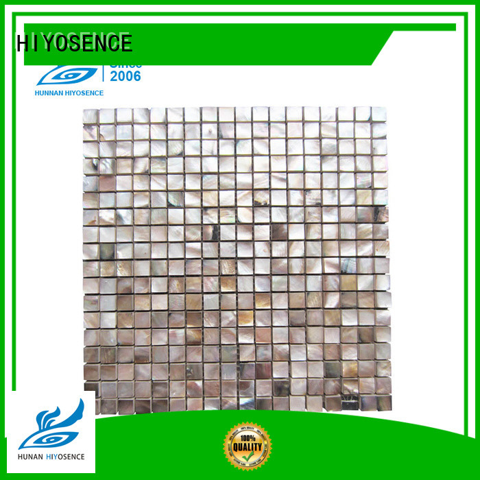 HIYOSENCE high quality concrete mosaic tile factory price