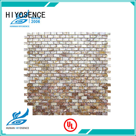 inexpensive pearl shell mosaic tile with good price for swimming pool