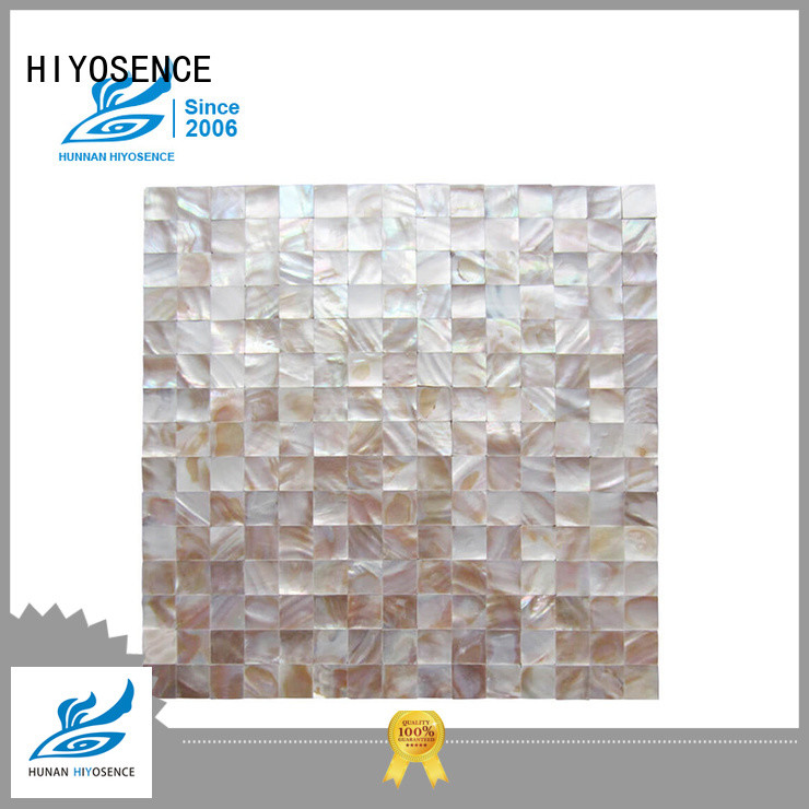 natural Oval mother of pearl tiles overseas market for swimming pool