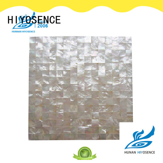 HIYOSENCE mother of pearl shell tile customized