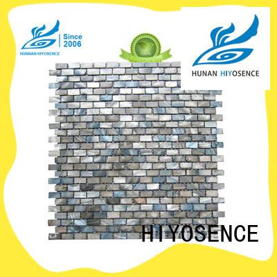 HIYOSENCE fashion design shell tile with good price for hotel
