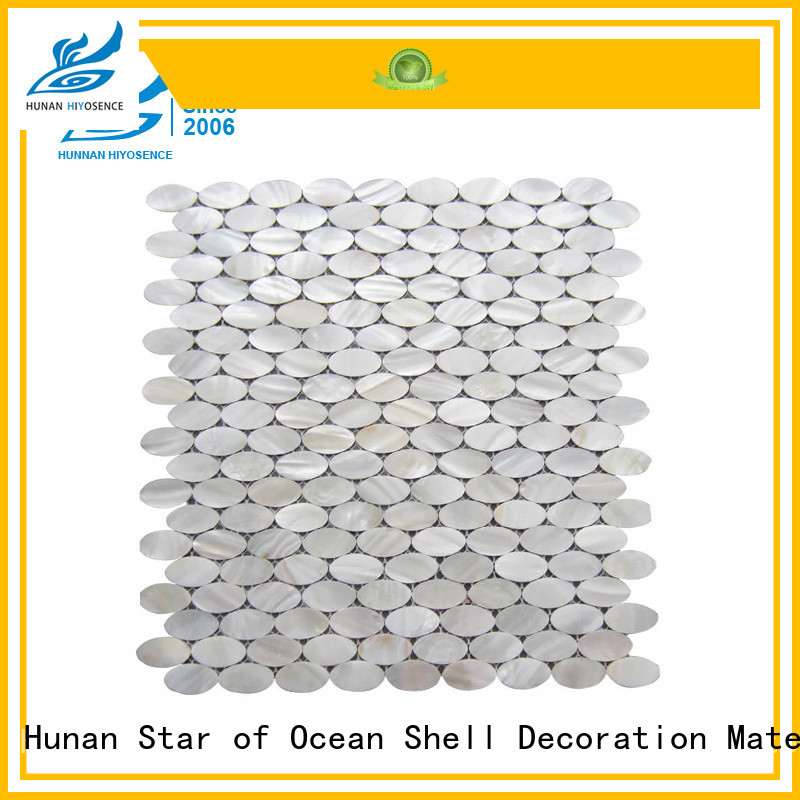 fashion design seashell tile with good price for decoration