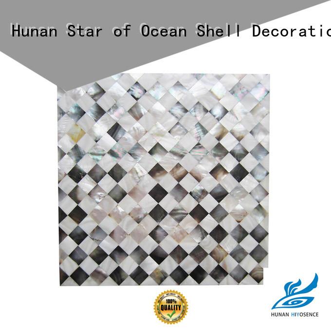 HIYOSENCE shell panel supplier for decoration