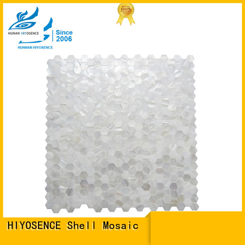 stable quality shell mosaic without joint overseas market for toilet
