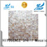 HIYOSENCE shell mosaic without joint factory price for swimming pool