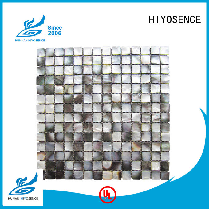 HIYOSENCE high quality shell tile marketing