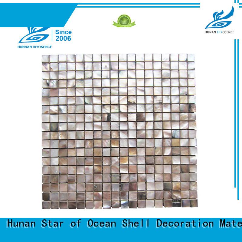 HIYOSENCE concrete mosaic tile factory price for hotel