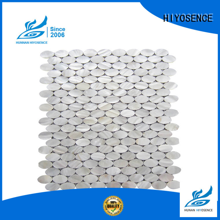 HIYOSENCE marble mosaic tile overseas market for living room