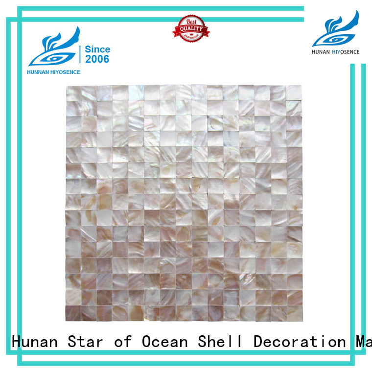 affordable price pearl white backsplash tile factory price for decoration