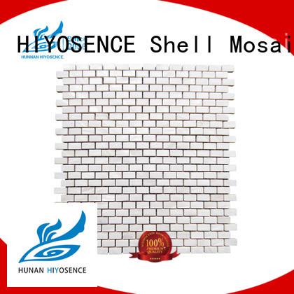 HIYOSENCE concrete mosaic tile with good price for toilet