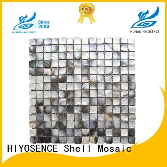 HIYOSENCE inexpensive shell mosaic with joint marketing