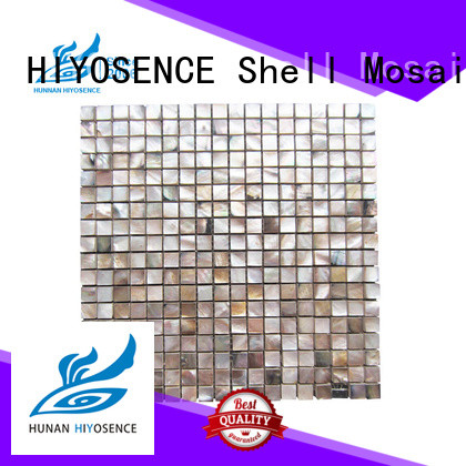 HIYOSENCE fashion design shell composite tile with good price for decoration