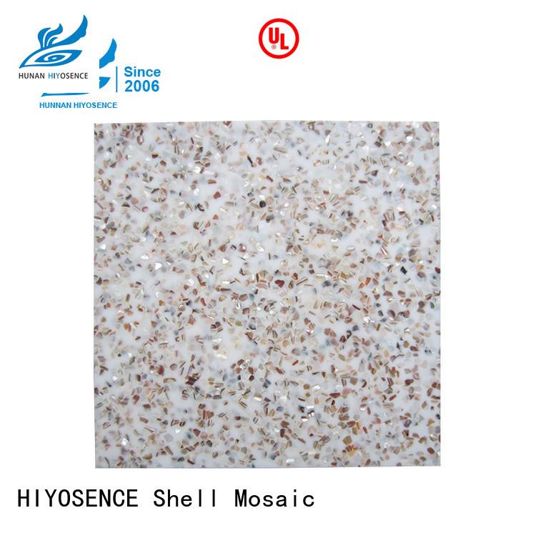 HIYOSENCE concrete mosaic tile factory price for decoration