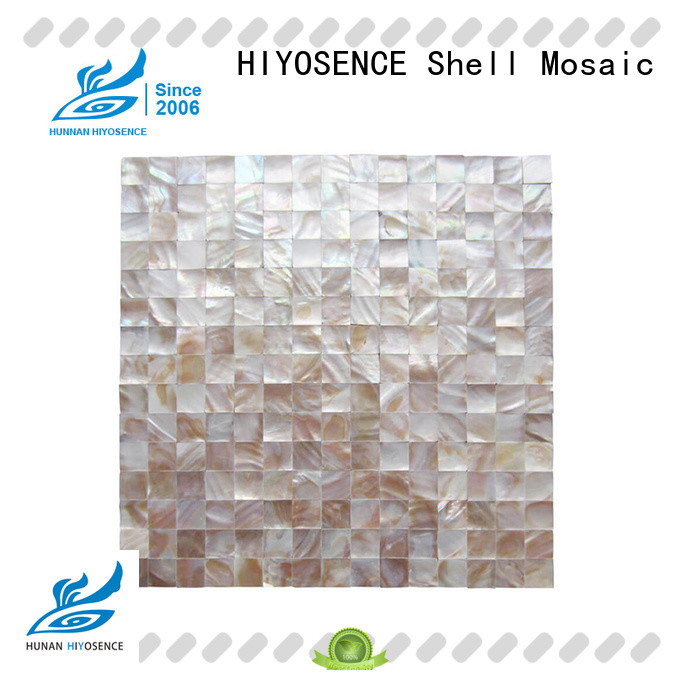 affordable price Fan-shaped shell mosaic tile factory price for swimming pool