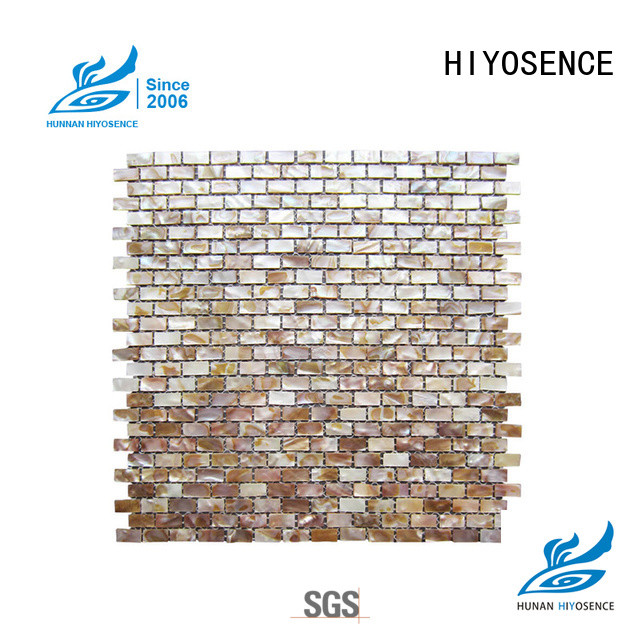 HIYOSENCE pearl mosaic tile marketing