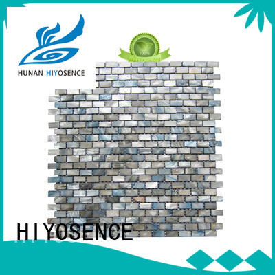 HIYOSENCE widely used mother of pearl tiles suppliers