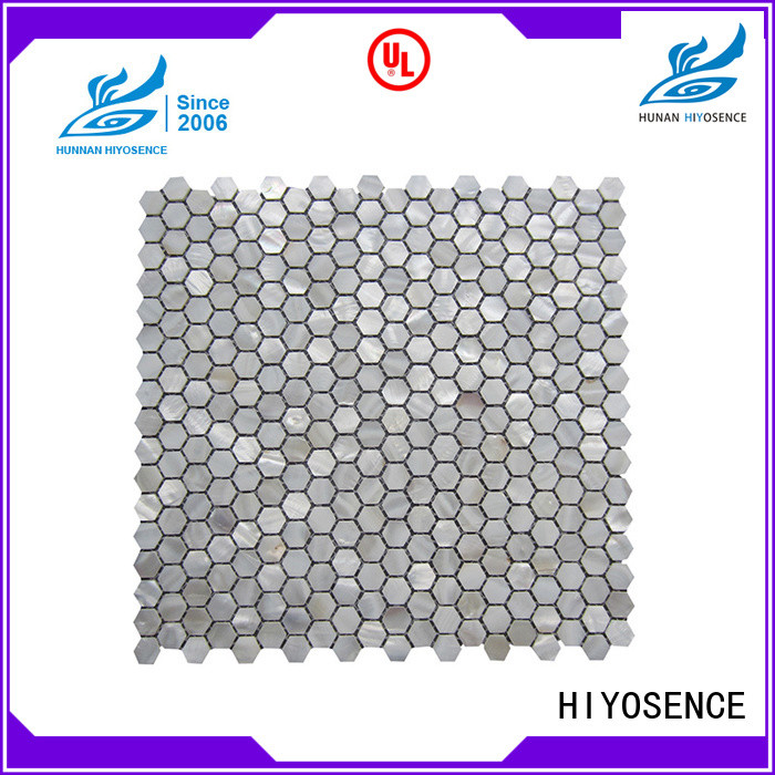 HIYOSENCE shell tile marketing for toilet