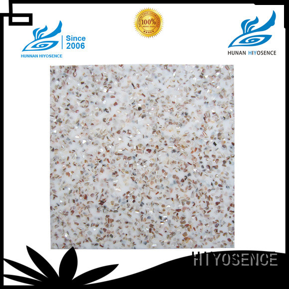 HIYOSENCE stable quality shell composite tile marketing for toilet