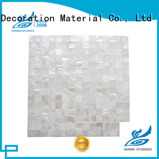 durable mother of pearl penny tile factory price for living room