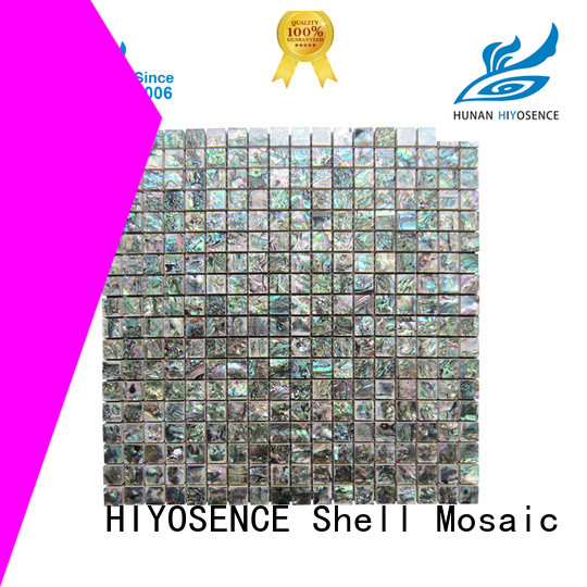 HIYOSENCE inexpensive mosaic on concrete factory price for swimming pool