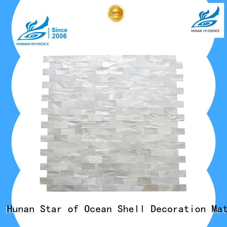 fashion design mother of pearl tile kitchen factory price
