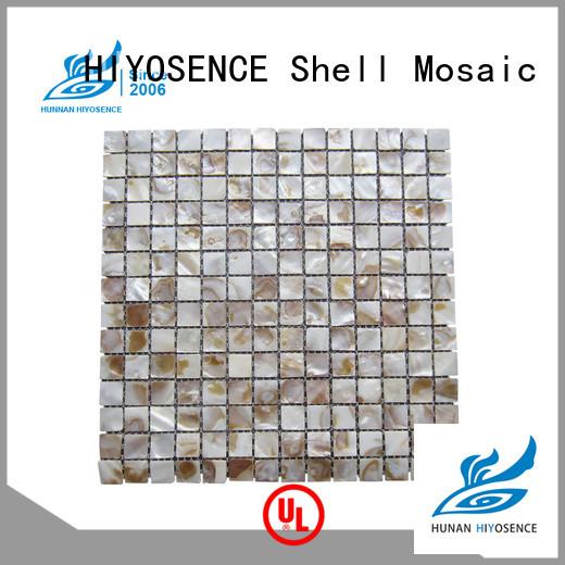 HIYOSENCE natural white hexagon tile with good price